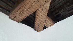Detail der Dachkonstruktion