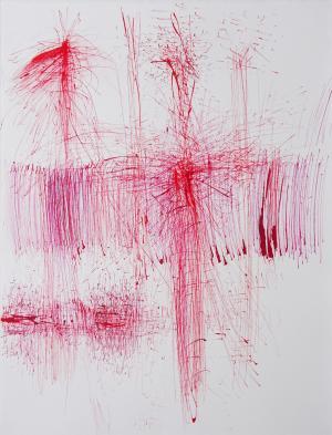 Ruth Rhomberg-Malin, Rot vibriert, 2020